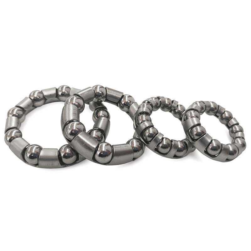 DAMCO DAMCO - CRANK CAGED BALL BEARING - FOR ONE PIECE BB KIT 43MM, 7 BALLS PAIR