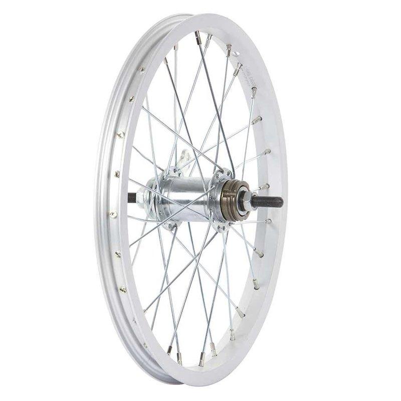 Wheel Shop Wheel Shop, Rear 16'' Wheel Alex Coaster Silver Nutted axle