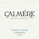 CALMÉRE Pinot Noir