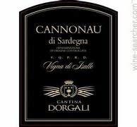 Cantina Dorgali, Cannonau di Sardegna