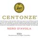 Centonze, Sicilia Nero d'Avola