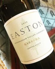 Easton Wines, Cooper Ranch Barbera (2011)