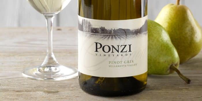 Ponzi Vineyards, Pinot Gris