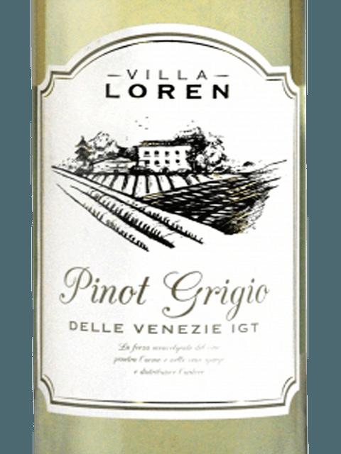 Villa Loren, Delle Venezie Pinot Grigio