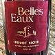 Belles Eaux Pinot Noir (Velvet Label)