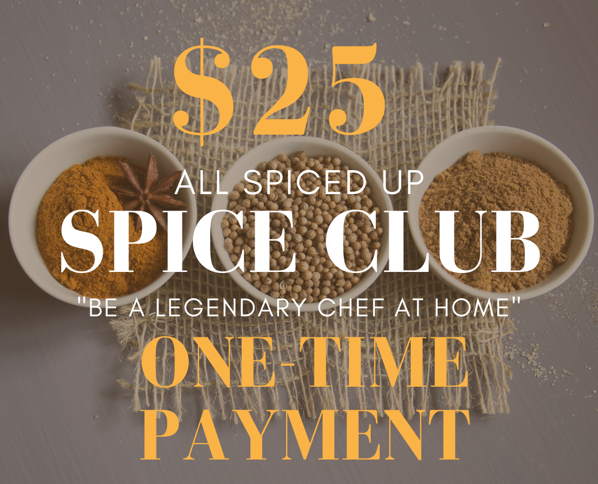 All Spiced Up Spice Club: One Time Payment