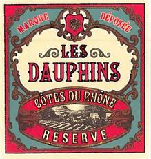 Les Dauphins, Côtes du Rhône Réserve Blanc