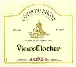 Vieux Clocher, Côtes du Rhône Rouge (2018)