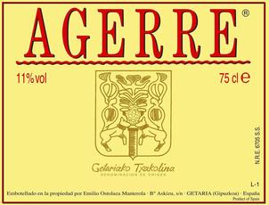 Agerre, Txakoli Rosé (2019)