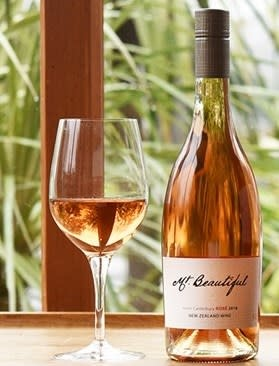 Mt. Beautiful, North Canterbury Rosé (2019)