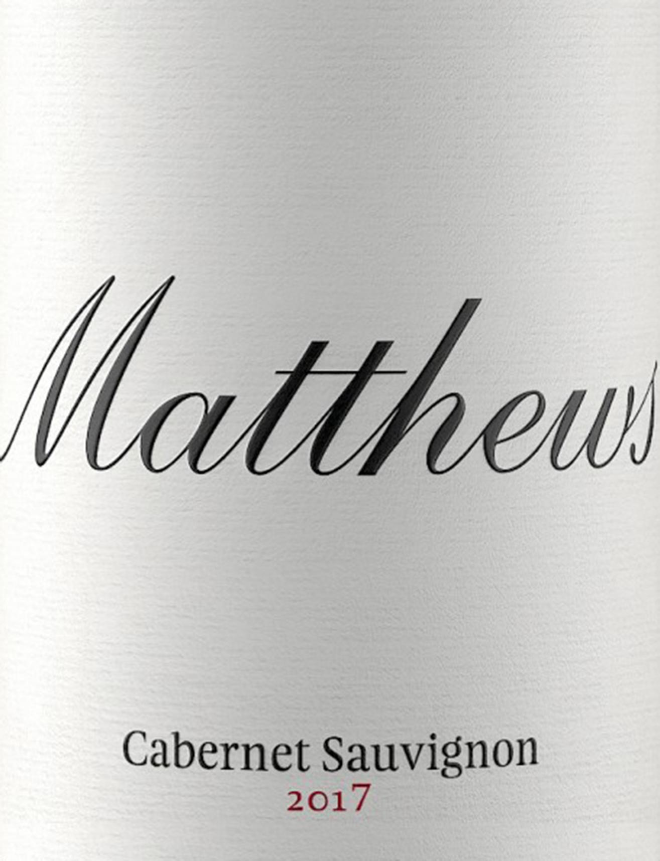 Matthews Cabernet Sauvignon (2017)