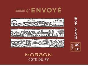 Maison L'Envoyé, Morgon Côte du Py Gamay Noir
