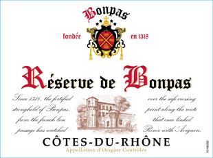Côtes du Rhône Réserve de Bonpas