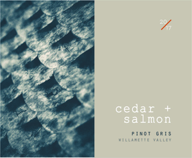 Cedar + Salmon, Pinot Gris Willamette Valley (2019)
