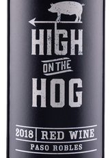 High on the Hog Red Wine (2018)