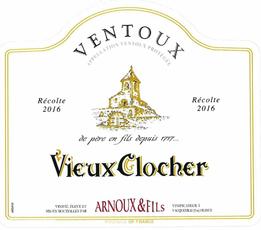 Vieux Clocher, Ventoux Rouge (2018)