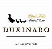Duxinaro, Central Coast Pinot Noir