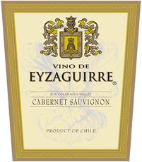 Eyzaguirre, Cabernet Sauvignon Chile