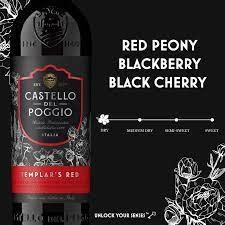 Poggio, Templar's Red Blend