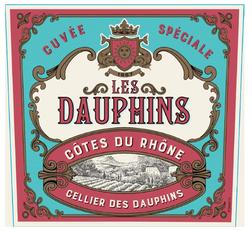 Les Dauphins Côtes du Rhône Rosé (2020)