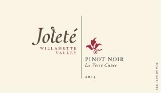 Joleté Wines, Pinot Noir Le Verre Cuvée Willamette Valley (2019)