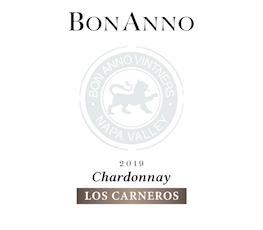 BonAnno, Chardonnay Carneros (2019)