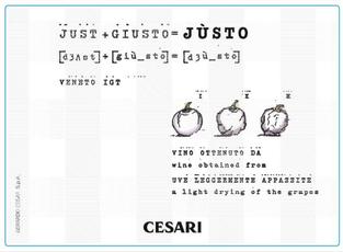 Cesari, Veneto Justo (2018)
