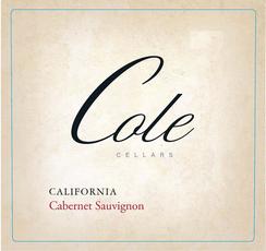 Cole Cellars, Cabernet Sauvignon