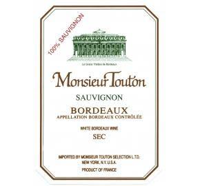Monsieur Touton, Bordeaux Sauvignon Blanc