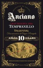 Anciano, Tempranillo 10 Year Gran Reserva