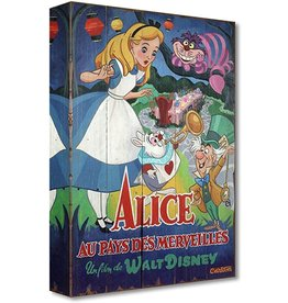 DISNEY A Date With Wonderland - Disney Treasure On Canvas
