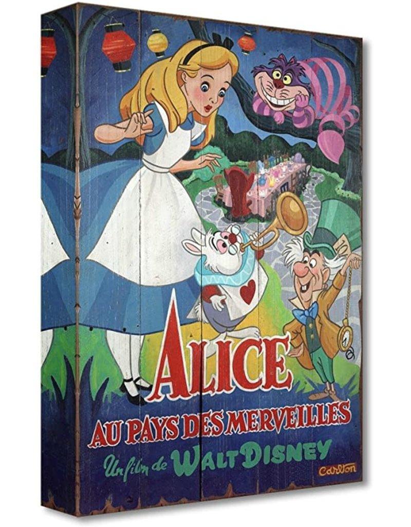 DISNEY A Date With Wonderland - Disney Treasure On Canvas