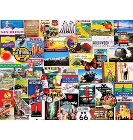 I Love California Jigsaw Puzzle
