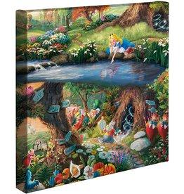 DISNEY Alice in Wonderland Kinkade