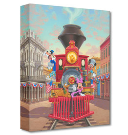 DISNEY All Aboard Engine 25 - Disney Treasure On Canvas
