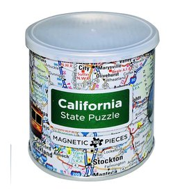 California Magnetic Puzzle