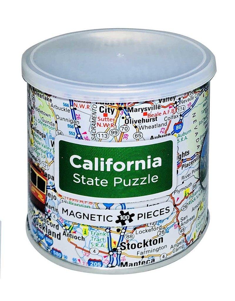 California Magnetic Puzzle