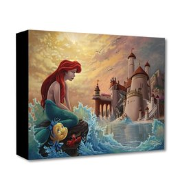 DISNEY Ariel's Daydream - Disney Treasure On Canvas