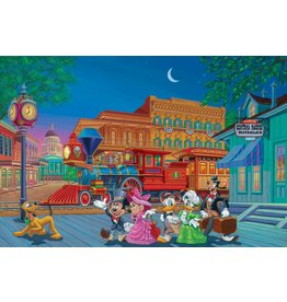 DISNEY Arriving in Style Framed Lithograph