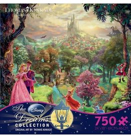DISNEY Thomas Kinkade Disney Dreams: Sleeping Beauty - 750pc Jigsaw Puzzle