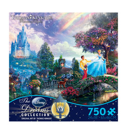 DISNEY Thomas Kinkade Disney Dreams: Cinderella Wishes Upon a Dream - 750pc Jigsaw Puzzle