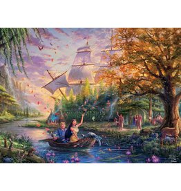 DISNEY Thomas Kinkade Disney Dreams: Pocahontas - 750pc Jigsaw Puzzle