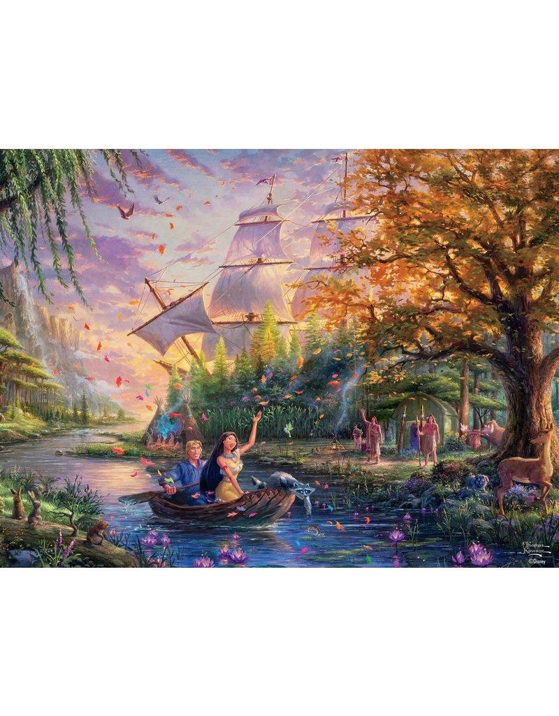DISNEY Thomas Kinkade Disney Dreams: Pocahontas - 750pc Jigsaw Puzzle