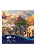 DISNEY Disney Thomas Kinkad Dumbo Puzzle 750pc
