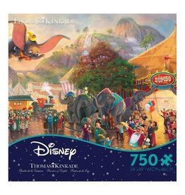 DISNEY Disney Thomas Kinkad Dumbo Puzzle 750pc