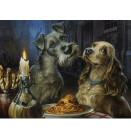 DISNEY Bella Notte - Disney Treasure On Canvas