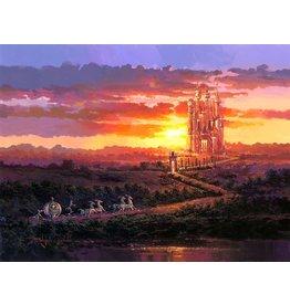 DISNEY Castle at Sunset