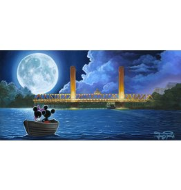 DISNEY Drifting in The Moonlight - Disney Treasure On Canvas