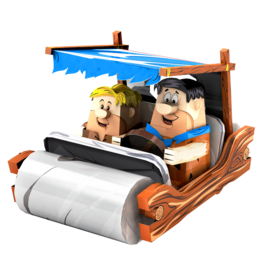 Flintstones Car Model
