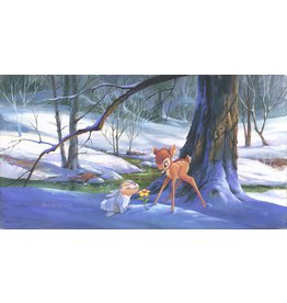 DISNEY First Hint of Spring - Disney Treasure On Canvas